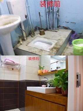 北京市通州区尚东庭西区别墅卫生间欧式豪华设计图片赏析