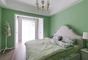 120平米的三居室,美式风格卧室美式经典设计图片赏析
