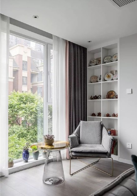 优雅精致,还透着单纯而倔强的美!阳台