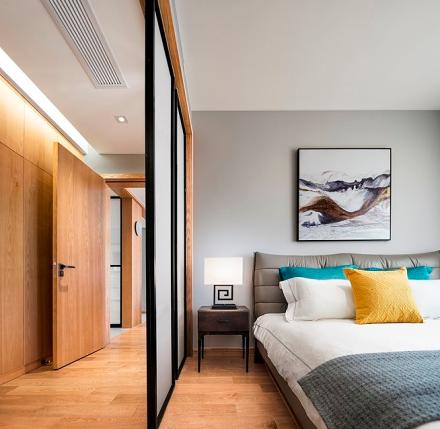 125㎡混搭风格,设计带来品质生活卧室