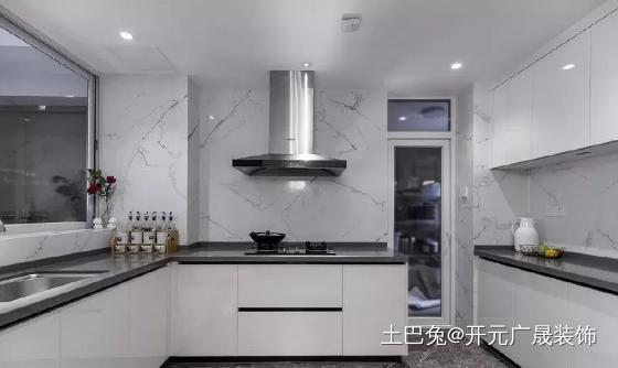 150㎡轻奢美式风格打造有格调的家!餐厅其他厨房设计图片赏析