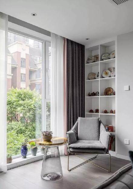 150㎡轻奢美式风格,打造有格调的家!阳台