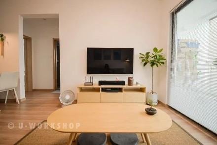 这个90后,打造了一个极致日式风!客厅
