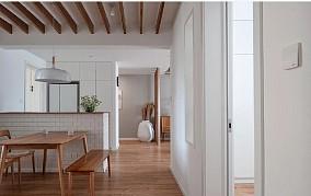 屋主熊姐喜欢朴素而安静的生活美学!厨房日式设计图片赏析