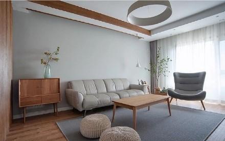 屋主熊姐喜欢朴素而安静的生活美学!客厅