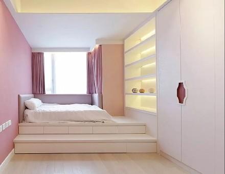 138㎡现代欧式三居室,轻奢有度卧室