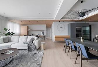 现代简约+原木风住宅设计 。