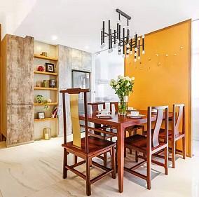 130平米的三居室,中式风格厨房中式现代设计图片赏析