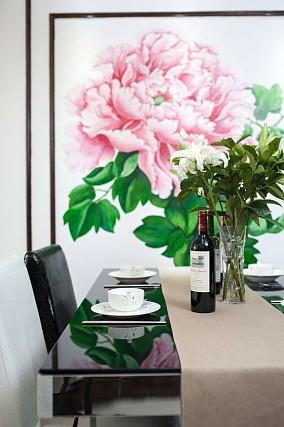 86平新中式格调美厨房中式现代设计图片赏析