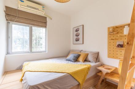 自然日系三房户型改造卧室