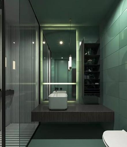 现代简约风,每个空间设计的都很赞!卫生间2图