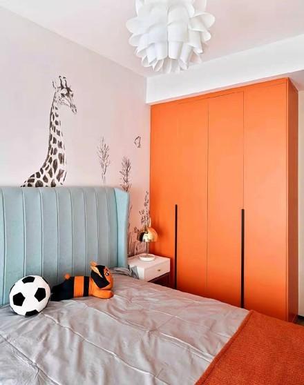 175平米的五居室,简约风格卧室