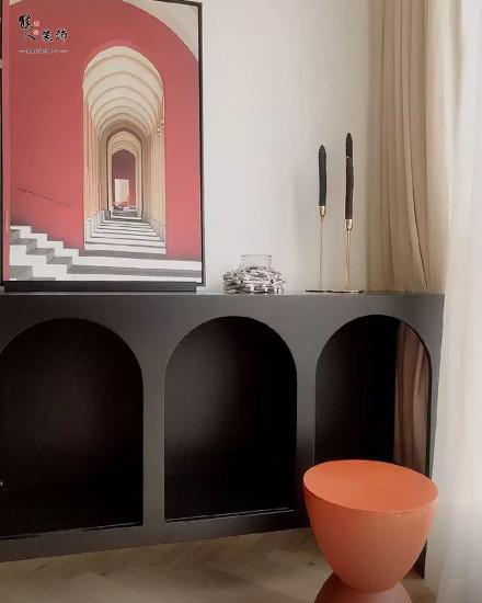 70平现代简约两居,家就要简单!阳台