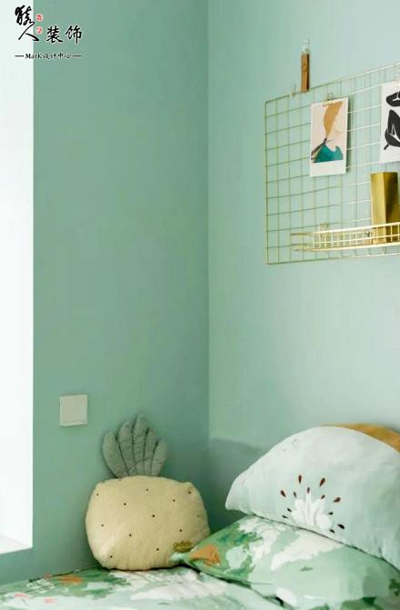 120㎡美式风格3室2厅!卧室
