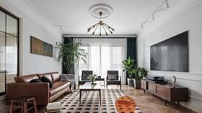160平四居室,颜值差不了,客厅太漂亮!13687243