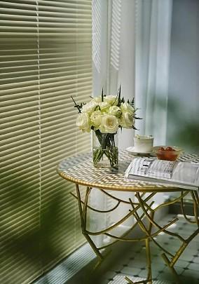 170㎡装出静谧丛林!用绿色盘活整个家阳台中式现代设计图片赏析