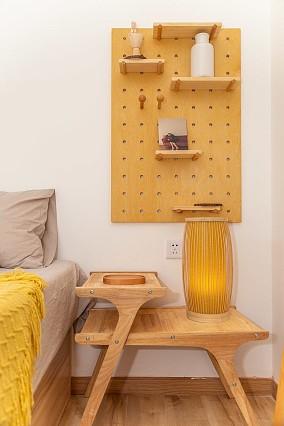 MUJI风格自然日系三房户型改造卧室1图日式设计图片赏析
