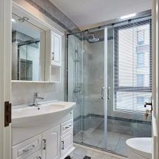 140平三居室现代美式风,温馨之家~13738665