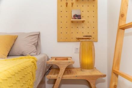 MUJI风格自然日系三房户型改造卧室2图