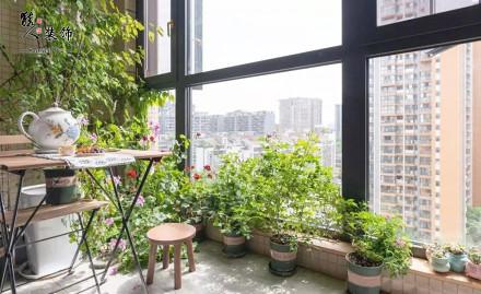 88平小三室,全屋温馨舒适,自然清新客厅