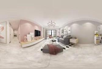 东润城130平3居室马卡龙系列小北欧