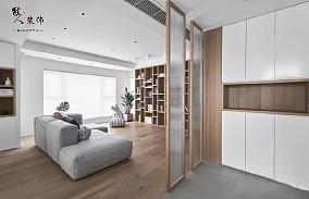 110㎡日式3居,轻松实用有格调的家玄关日式设计图片赏析