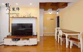 128㎡美式三居,生活如此惬意!客厅美式田园设计图片赏析