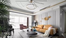 现代风格装修,一家四口的120㎡气质美居13889294