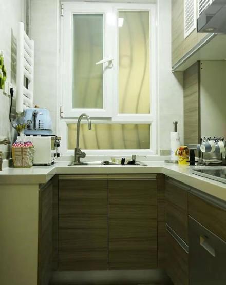 66平米的二居室,简约风格餐厅