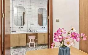 210平米的四居室,简约风格餐厅现代简约设计图片赏析
