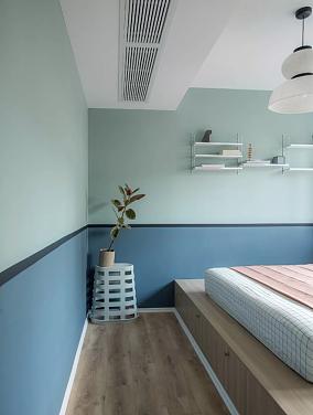 75㎡简约风格,设计带来品质生活卧室设计图片赏析