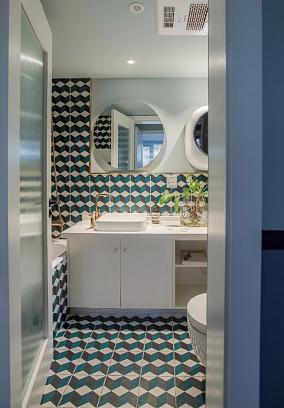 75㎡简约风格,设计带来品质生活卫生间1图其他设计图片赏析
