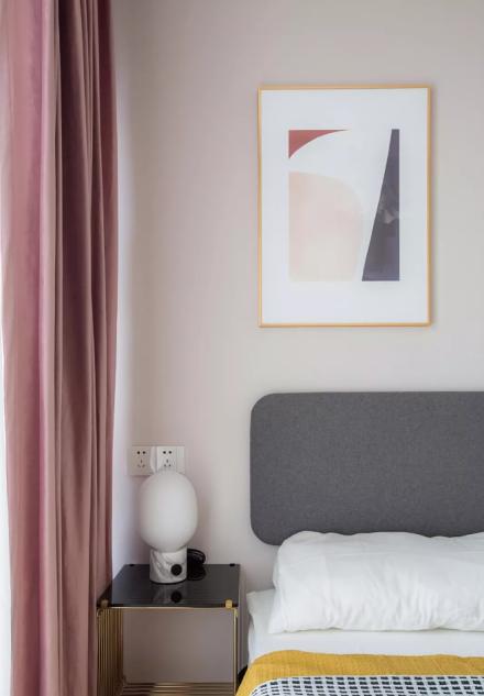 75㎡简约风格,设计带来品质生活卧室1图