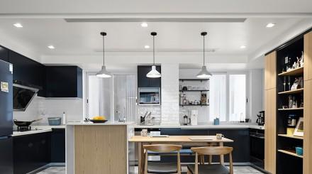 106㎡日式简约家居设计!厨房