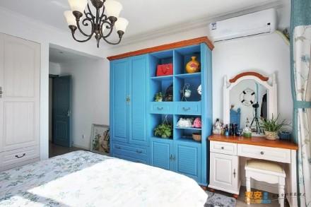 浪漫唯美的地中海风格小家卧室