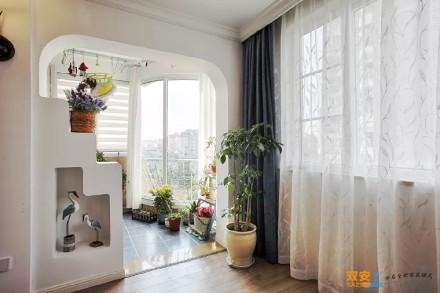 浪漫唯美的地中海风格小家阳台