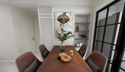 70㎡两居室,无处不在的精致生活厨房1图