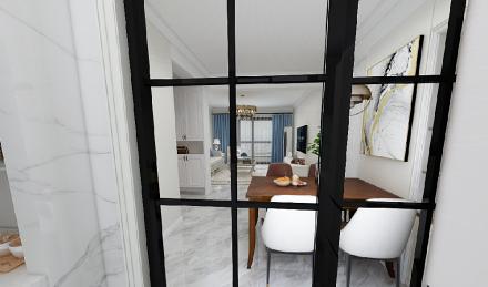 70㎡两居室,无处不在的精致生活厨房2图