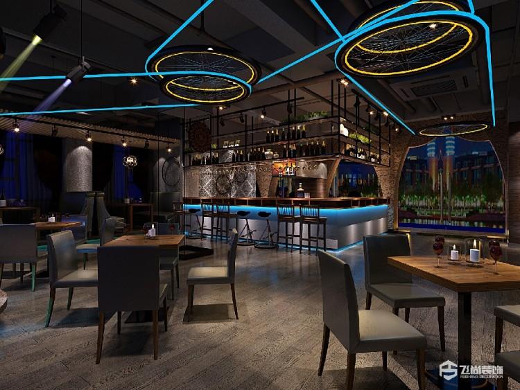 工业风格餐厅装修设计