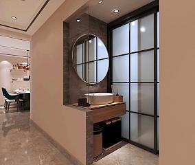 86m²现代轻奢风,质感其实一点也不难!卫生间其他设计图片赏析