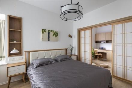 简洁、素雅之下更多的是自由和舒适!卧室
