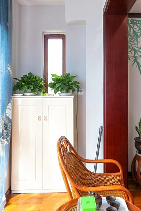 山之韵135平新中式风格案例客厅1图中式现代设计图片赏析