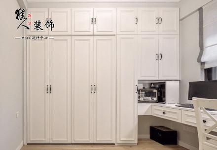 120平田园美式三室功能区