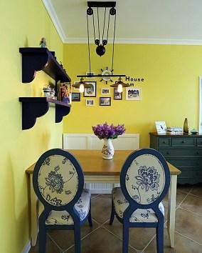 86㎡二居室地中海风格厨房地中海设计图片赏析