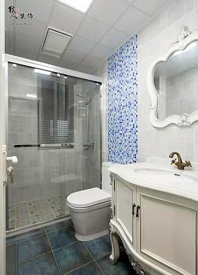 118㎡欧式三居,轻奢优雅,太惹人爱了!卫生间欧式豪华设计图片赏析