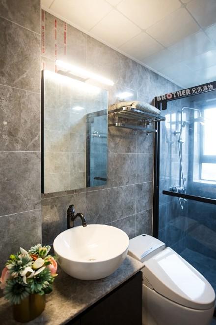 100㎡北欧风格装修,客厅设计太赞卫生间