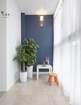 122平简美四室,每一处都是亮点阳台美式经典设计图片赏析