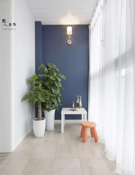 122平简美四室,每一处都是亮点阳台