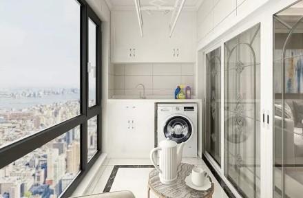 气质十足的艺术之家,欧式阳台2图