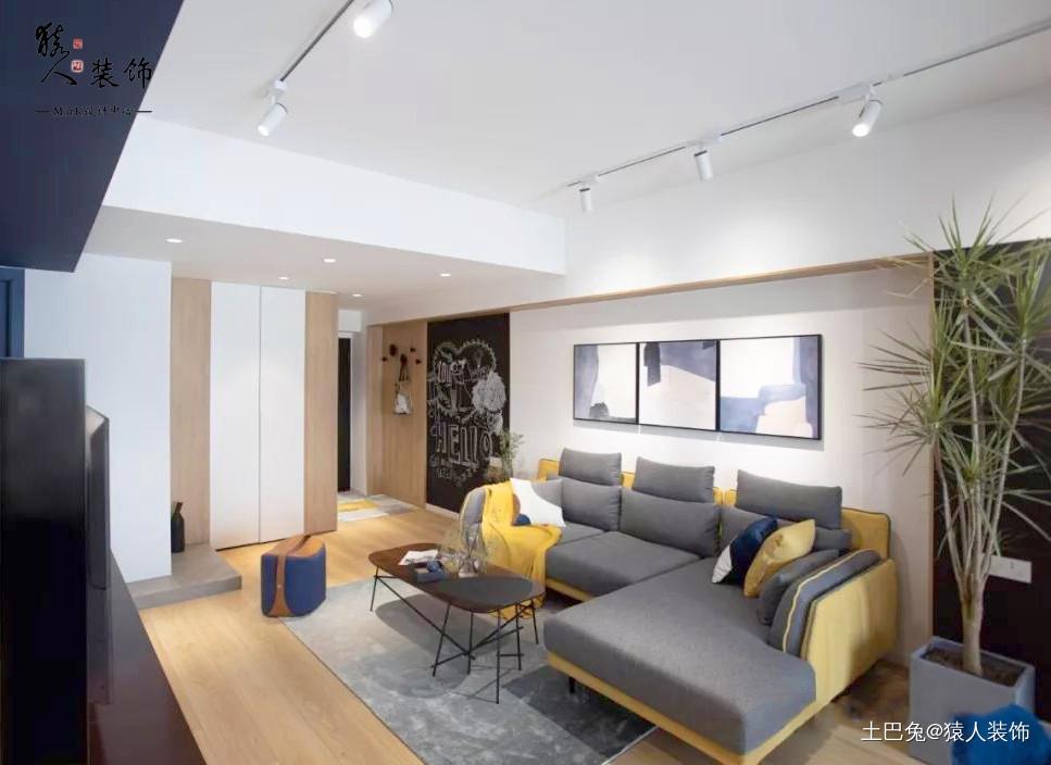 92㎡两居最爱还是卧室景观阳台!客厅现代简约客厅设计图片赏析